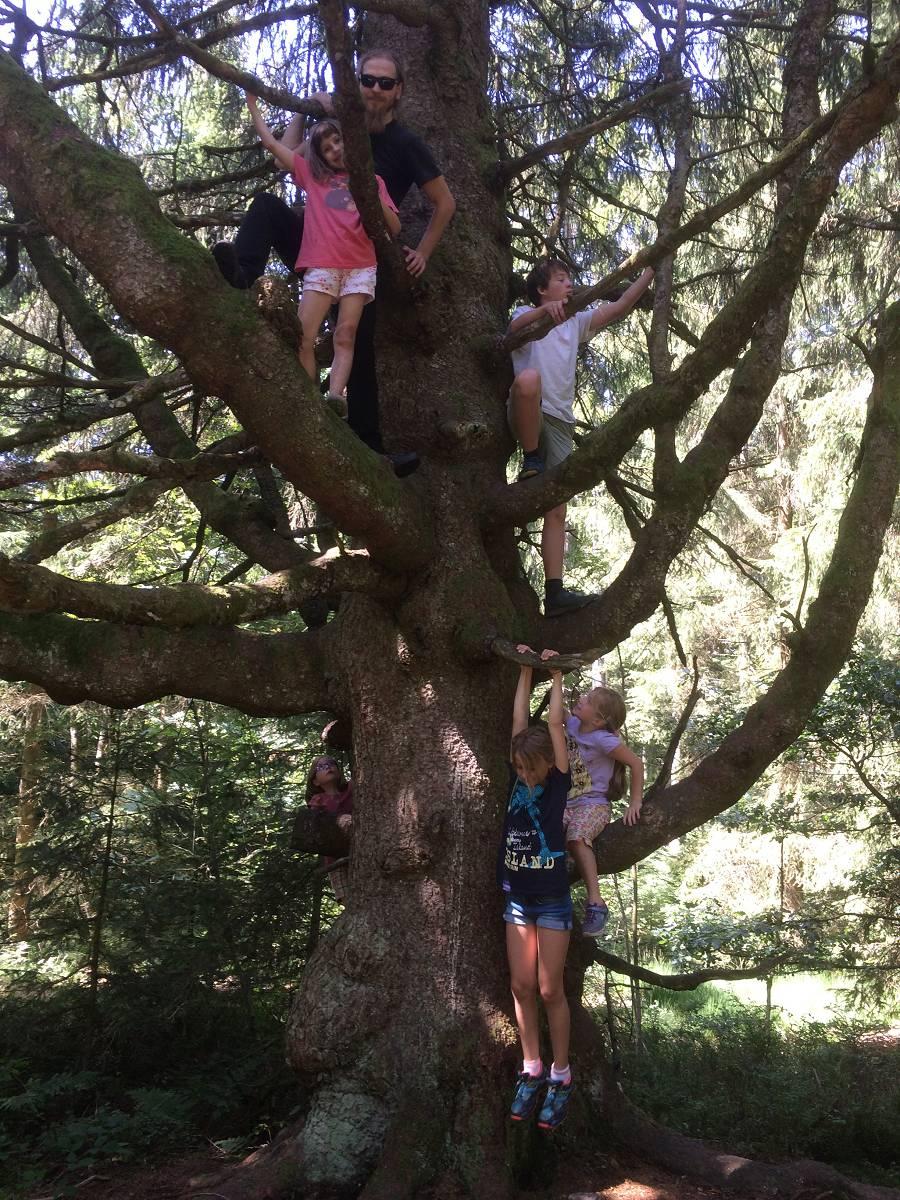 Familie im Schwarzwaldverein